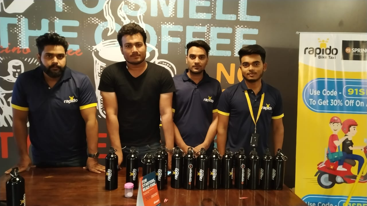 Rapido takes the spotlight at popular co-working spaces in Gurugram