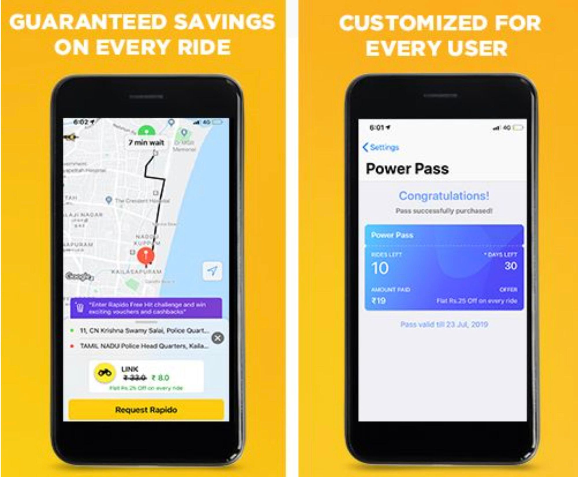 Rapido rolls out its Power Pass Subscription Program